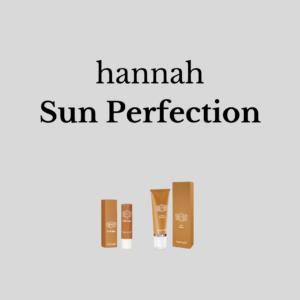 hannah Sun Perfection